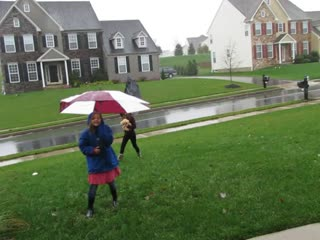 """It's Raining Dogs!"" Hurricane Sandy News Report from Coatesville"