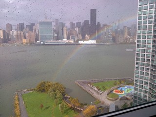 Sandy's Rainbow Lining in NYC