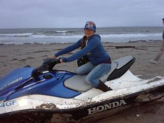 Jetski found on Coney Island Beach