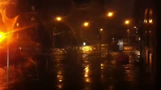 NYC SANDY - 34th and 1st Ave Flooding