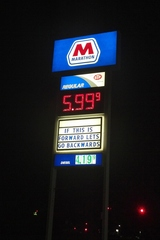 Election Day Gas In Michigan-$5.99