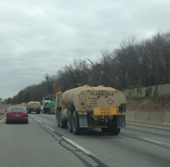 Fuel heading to NJ on PA turnpike
