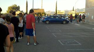 Lines to Vote in Tucson AZ