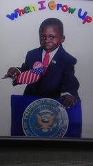 When I grow up I too can be Obama