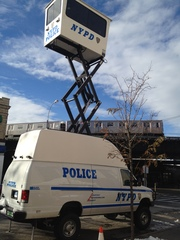 Texas Company provides new rapid response technology to NYPD - Sandy Aftermath