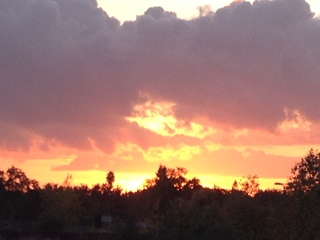 Sunset in Rancho Cordova