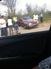 Vicious Car Wreck in Texas