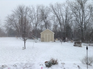 Snow!!! From Tanner Thomas in Paola, Ks.