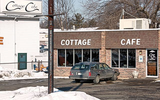 My favorite homestyle resturaunt, The Cottage Cafe