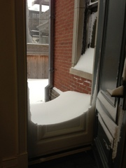 Montreal Snow storm Dec 27, 2012