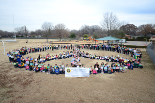 Saint Paul School prays for World Peace