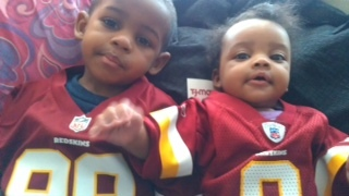 Young Redskins fans