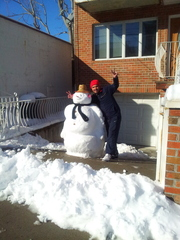 5 feet Nemo snow man