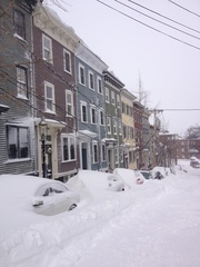 Snow in Charlestown